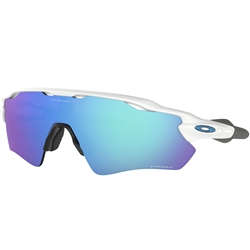 Oakley Radar EV Path Polished White/ Prizm Sapphire Lens