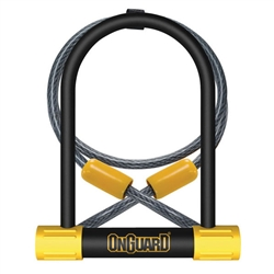 "OnGuard Bulldog DT U-Lock & 48"" Cable"