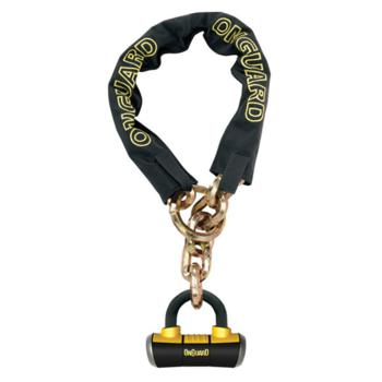 "OnGuard Mastiff Loop Chain w/ U-lock, 51"" x 2/5"""