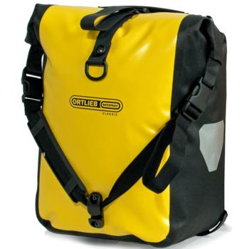 Ortlieb Front-Roller Classic Front Pannier: Pair~ Yellow/Black