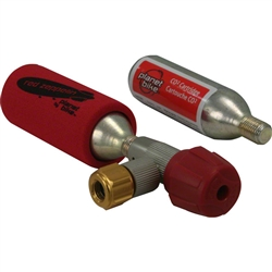 Planet Bike Red Zeppelin Inflator