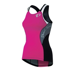 Pearl Izumi Elite In–R–Cool Tri Support Singlet Women's Hot Pink/Stormy