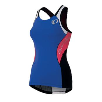 Pearl Izumi Elite In–R–Cool Tri Support Singlet Women's Blue/Coral