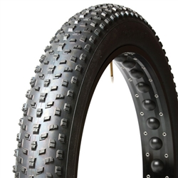 Panaracer Fat B Nimble 26x4 Folding Bead 120tpi Tire, Black