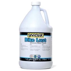Pedros Bike Lust Silicone Polish and Cleaner 128oz (1 Gallon)