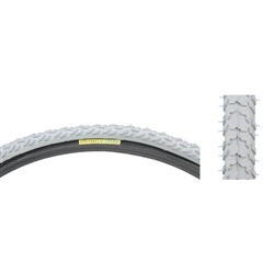 "Primo Gray 24 x 1-3/8"" Track Tire for Wheelchair # C-763 V"
