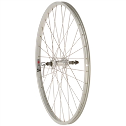 Quality Wheels Value Series Silver Rear Wheel 26""