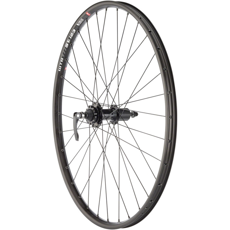 Quality Wheels Mountain Disc Rear Wheel 27.5 32h 135mm QR SRAM 406 6-bolt WTB ST i23 TL Black
