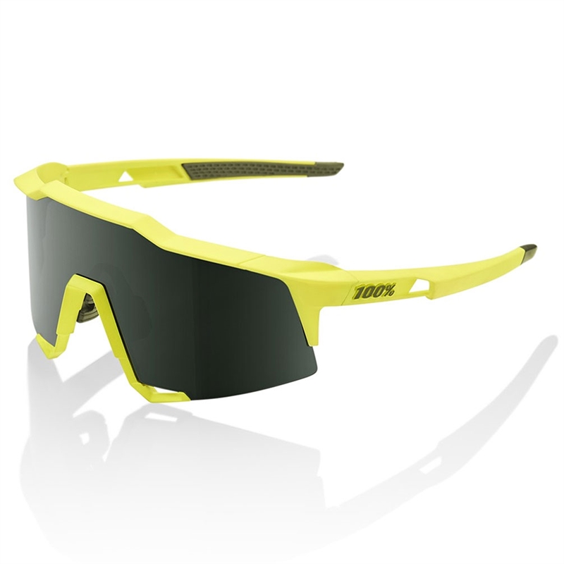 100% Speedcraft Soft Tact Banana/Grey Green Lens