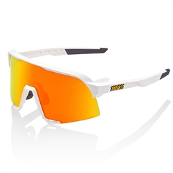 Ride 100% S3 Soft Tact White/HiPER Red Multilayer Mirror Lens