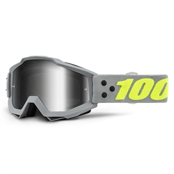 Ride 100% Accuri Goggle Berlin Mirror Silver Lens