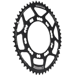 Rotor Q-Rings chainring, Campy-type 110 50t black