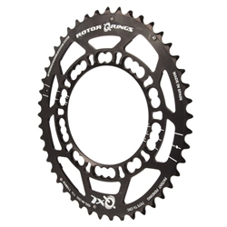 Rotor QXL chainring, compact 110 53t(A) black