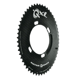 Rotor Q-Rings chainring, 9000/6800 4-arm 110 46-54t black