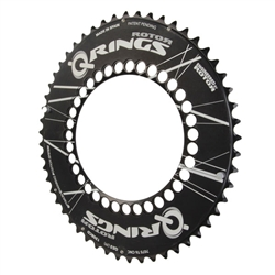 Rotor Q-Rings chainring, standard 130 50-54t black