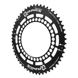Rotor Q-Rings chainring, triple 130 53t black