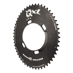 Rotor QXL chainring, 9000/6800 4-arm 110 black 52-54t