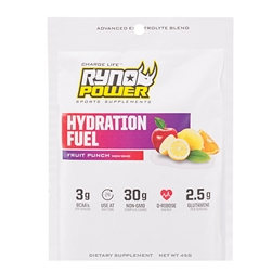 RynoPower Hydration Fuel Single Serving Fruit Punch