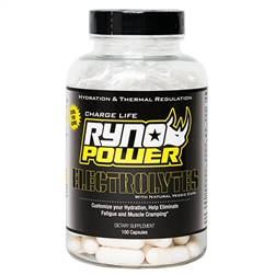 Ryno Power Electrolytes Capsules 100ct