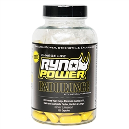 Ryno Power Endurance Capsules 125ct