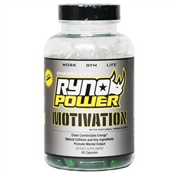 Ryno Power Motivation Capsules 60ct