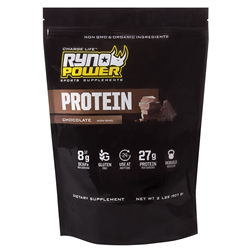 Ryno Power Chocolate Protein Powder 2lb 20 Servings