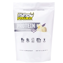 Ryno Power Vanilla Protein Powder 2lb 20 Servings