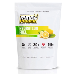 RynoPower Hydration Fuel 2LB Bag Lemon Lime