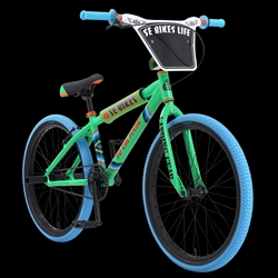 "SE Bikes So Cal Flyer 24"" BMX Bike Green"