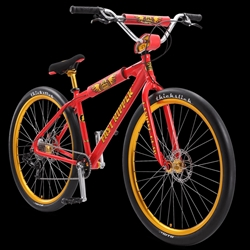"SE Bikes Fast Ripper 29"" BMX Bike Red Lightning"