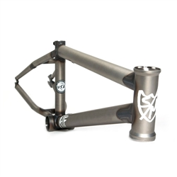 "S&M Bikes 18"" ATF Frame for 18"" Wheels Primer Clear"