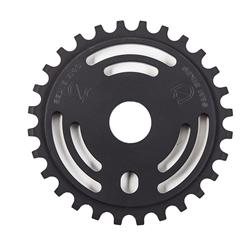 S&M Bikes Drain Man Sprocket Matte Black