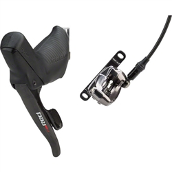 SRAM Red 22 Flat Mount Hydraulic Disc Brake with Front Shifter