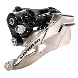 SRAM X.0 2x10 Low Clamp (31.8/34.9mm) Front Derailleur