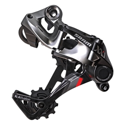 SRAM XX1 X-Actuation/Horizon 11sp rear derail, carbon/grey
