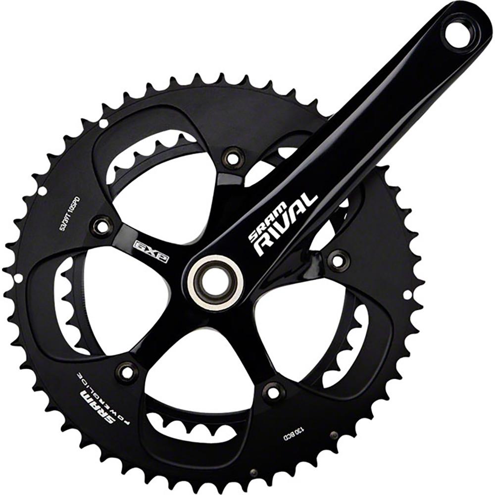 sram rival black 68mm black rings crankset gxp from bikebling R-Gear Clip Art larger photo