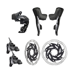 SRAM Force eTap AXS 1x Flat Mount HRD Electronic Groupset