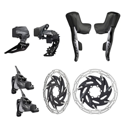 SRAM Force eTap AXS 2x Flat Mount HRD Electronic Groupset