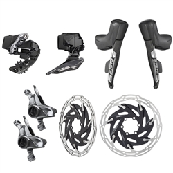 SRAM Red eTap AXS 2x Post Mount HRD Electronic Groupset