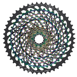 SRAM XG-1299 Eagle 10-50 12 Speed Cassette - Rainbow