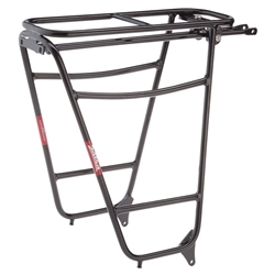 Salsa Wanderlust HD Rear Rack, Black Spacing Black