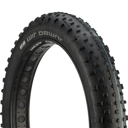 Schwalbe Jumbo Jim SnakeSkin TL Easy Tire,26 x 4.4 EVO Folding Black Addix