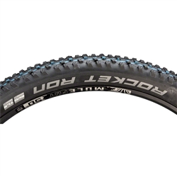 "Schwalbe Rocket Ron Tire 27.5 x 2.6"" TL Easy SnakeSkin Addix Folding Black"