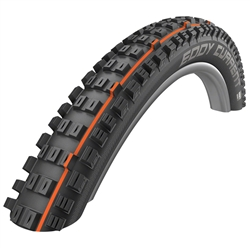 Schwalbe Eddy Current 29 x 2.4 Front Tire TL Evolution SuperGravity Addix Soft