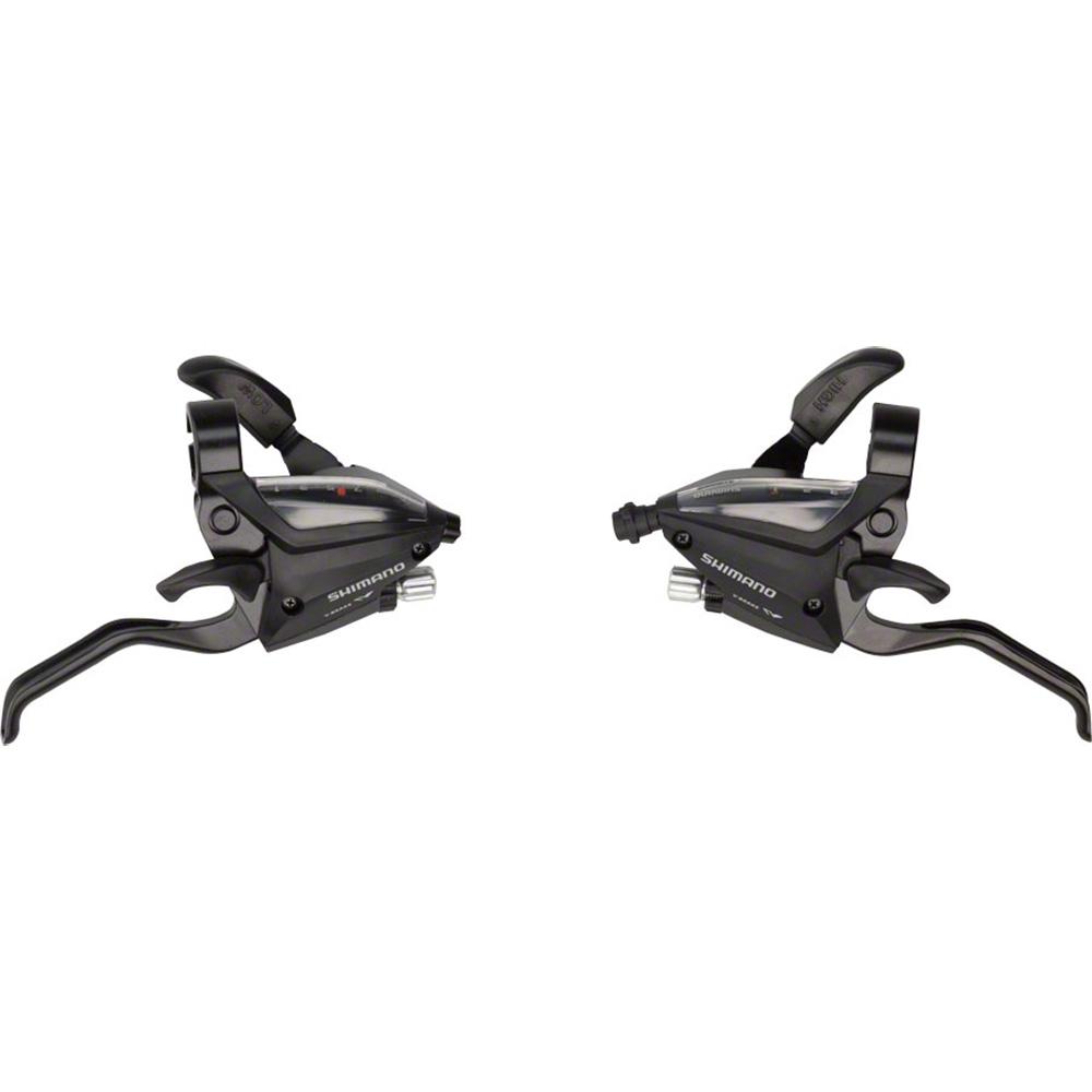 b67cd90faf5 Shimano EF500 3x7-Speed Brake/Shift Lever Set Black · Larger Photo ...