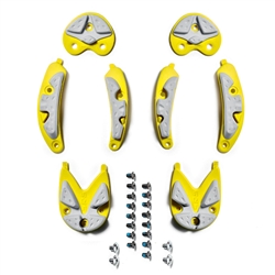 Sidi SRS Carbon Composite Soles for Dragon 4 and 5, and newer Spider Yellow