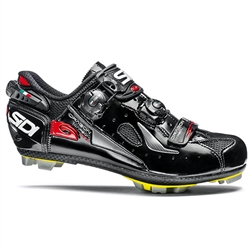 Sidi Dragon 4 MEGA SRS Carbon MTB Shoe - Black Vernice