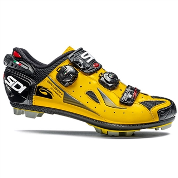 Sidi Dragon 4 SRS Carbon MTB Shoe - Yellow/Black