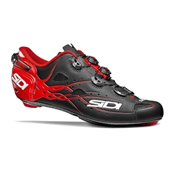 Sidi Shot Road Bike Shoe Black/Red