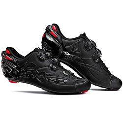 Sidi Shot Road Shoe Matte Black/Black Liner